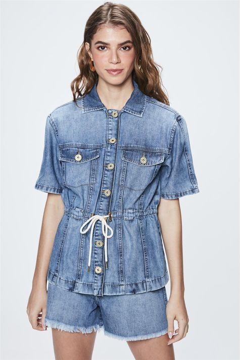 Jaqueta-Jeans-com-Mangas-Curtas-Frente--