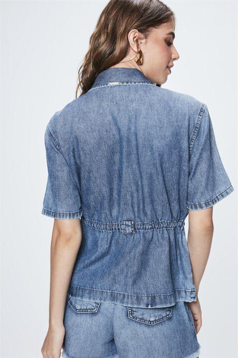 Jaqueta-Jeans-com-Mangas-Curtas-Costas--