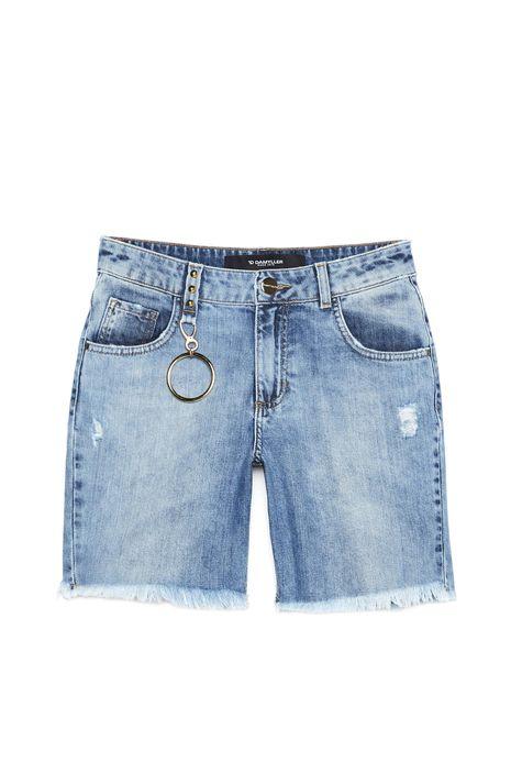Bermuda-Jeans-Justa-com-Puidos-Feminina-Detalhe-Still--