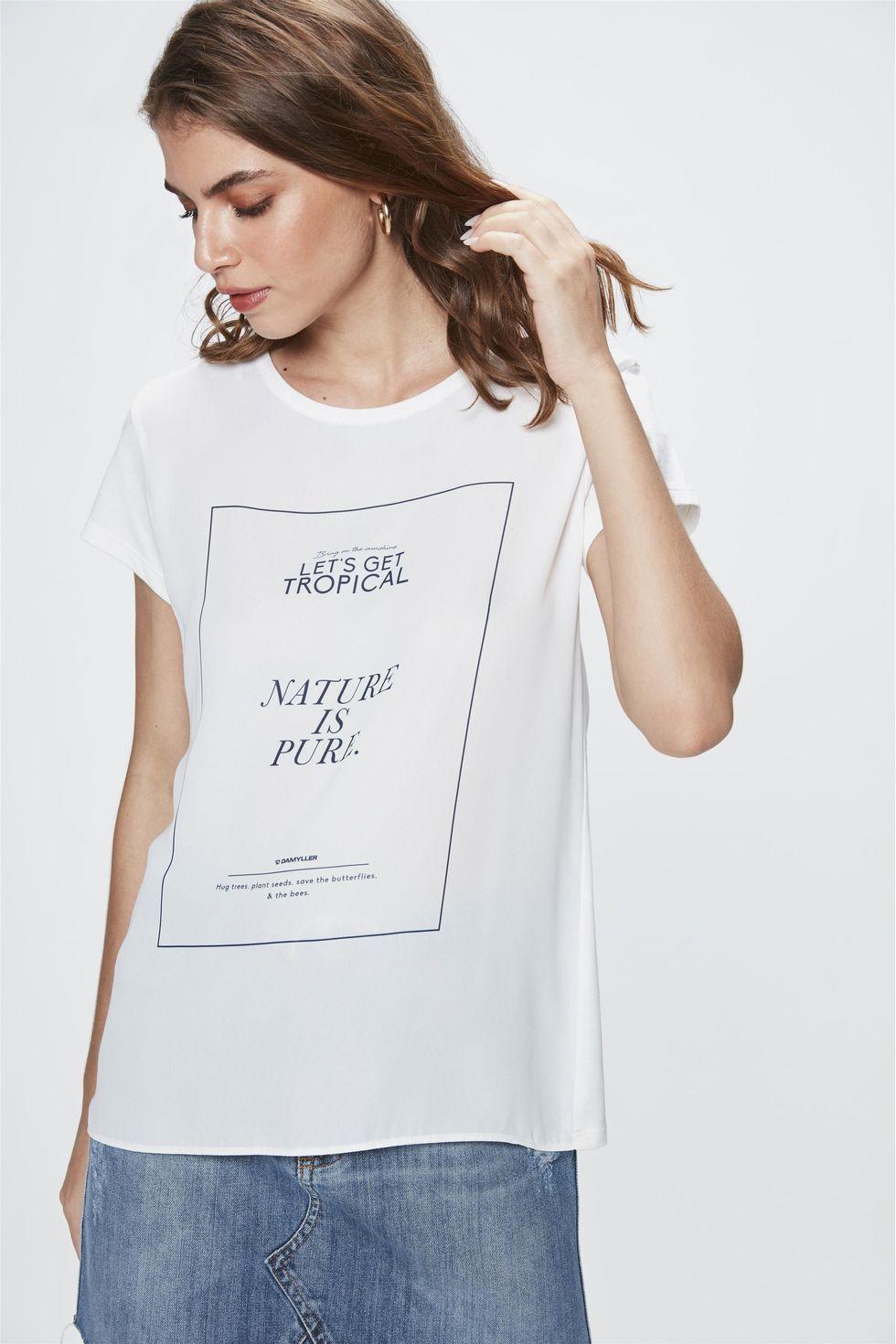 Camiseta-com-Estampa-Nature-is-Pure-Frente--