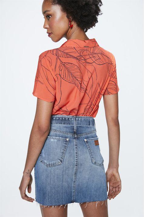 Saia-Jeans-Mini-com-Cinto-Costas--