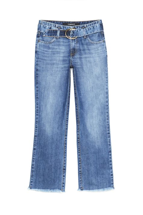 Calca-Jeans-Reta-Cropped-com-Cinto-Detalhe-Still--