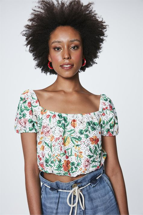 Top-Cropped-com-Estampa-Floral-Frente--