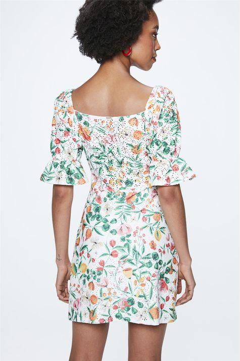 Vestido-Mini-com-Estampa-Floral-Costas--