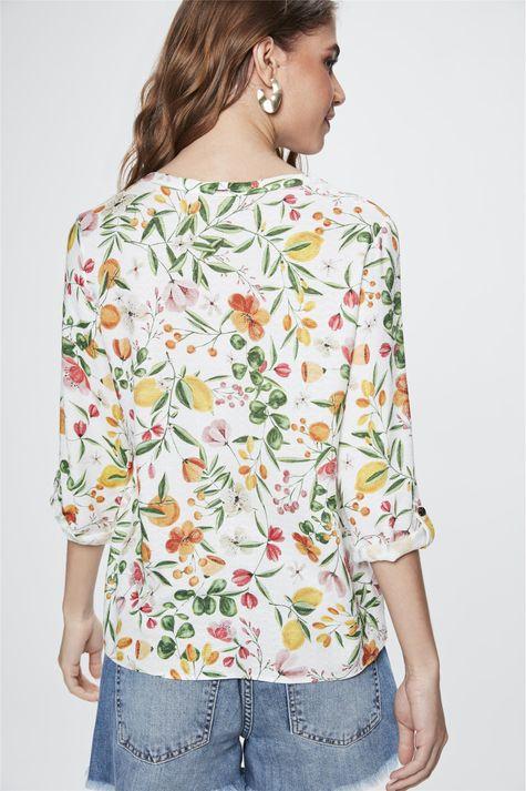 Camisa-com-Estampa-Floral-Feminina-Costas--