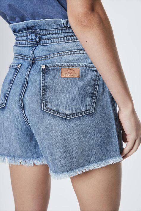 Short-Jeans-de-Cintura-Alta-Clochard-Detalhe-1--