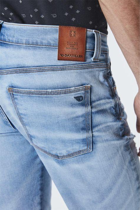 Bermuda-Jeans-Skinny-Destroyed-Masculina-Detalhe--