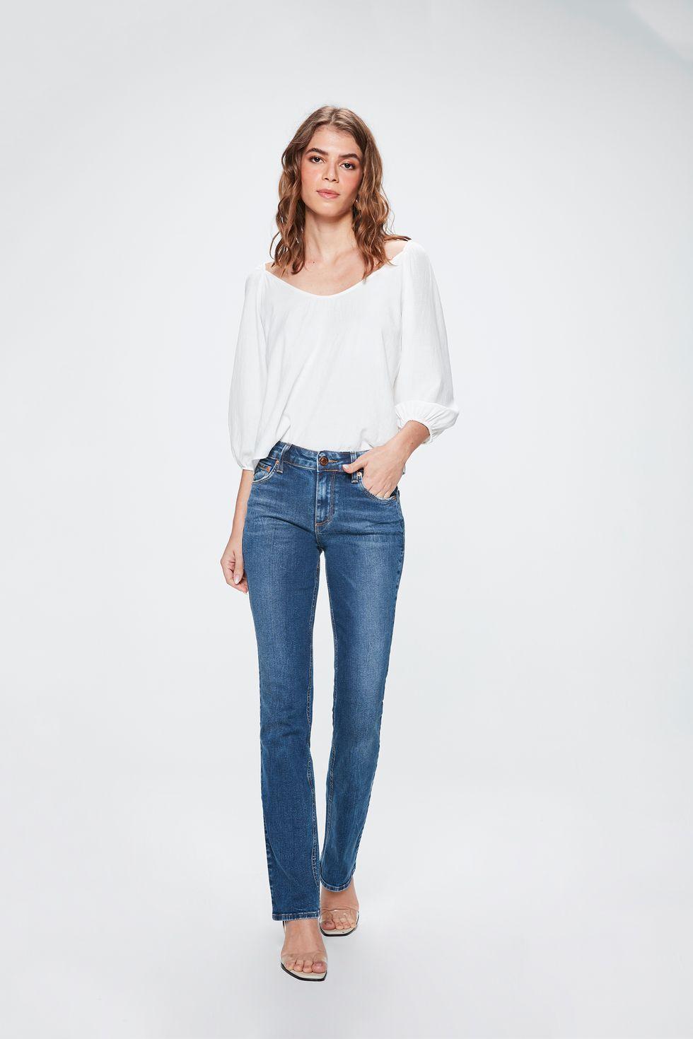 Calca-Jeans-Reta-de-Cintura-Alta-Frente--