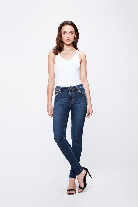 Calca-Jeans-com-Cintura-Alta-Feminina-Detalhe-1--