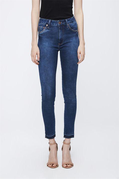 Calca-Jeans-com-Cintura-Alta-Feminina-Frente-1--