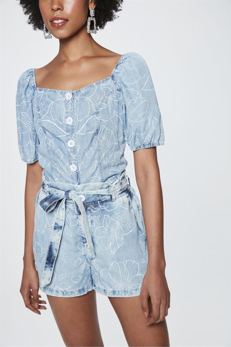 Short-Jeans-Mini-Clochard-Floral-Frente--