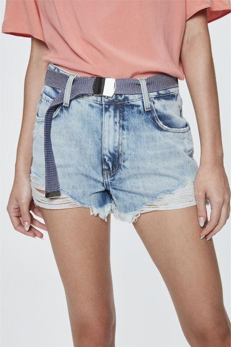 Short-Jeans-de-Cintura-Alta-com-Cinto-Detalhe--