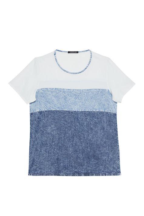 Camiseta-Jeans-com-Recortes-Feminina-Detalhe-Still--