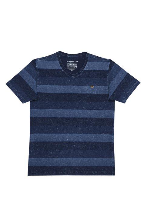 Camiseta-com-Estampa-Listrada-Masculina-Detalhe-Still--