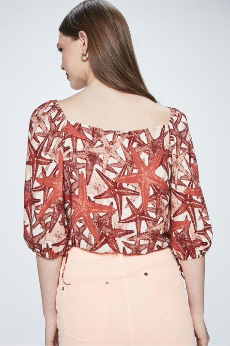 Top-Cropped-Estampado-de-Estrela-do-Mar-Costas--