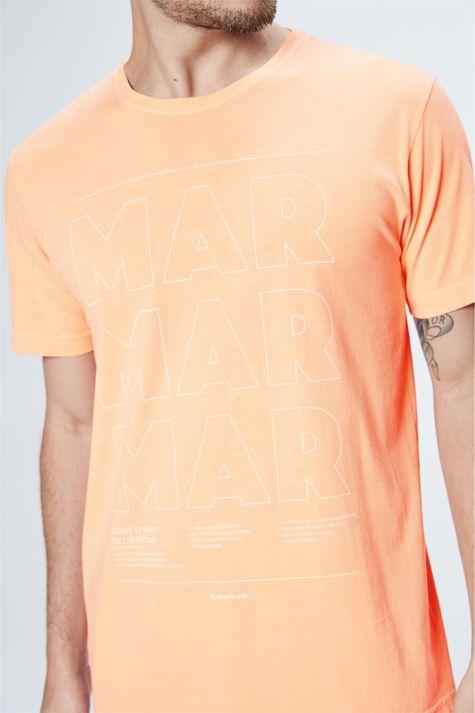 Camiseta-Neon-com-Estampa-Mar-Masculina-Frente--