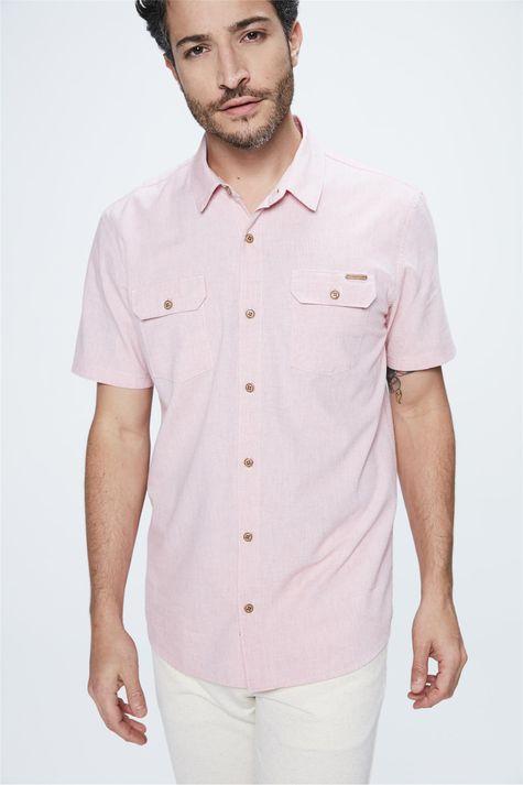 Camisa-de-Manga-Curta-Masculina-Costas--