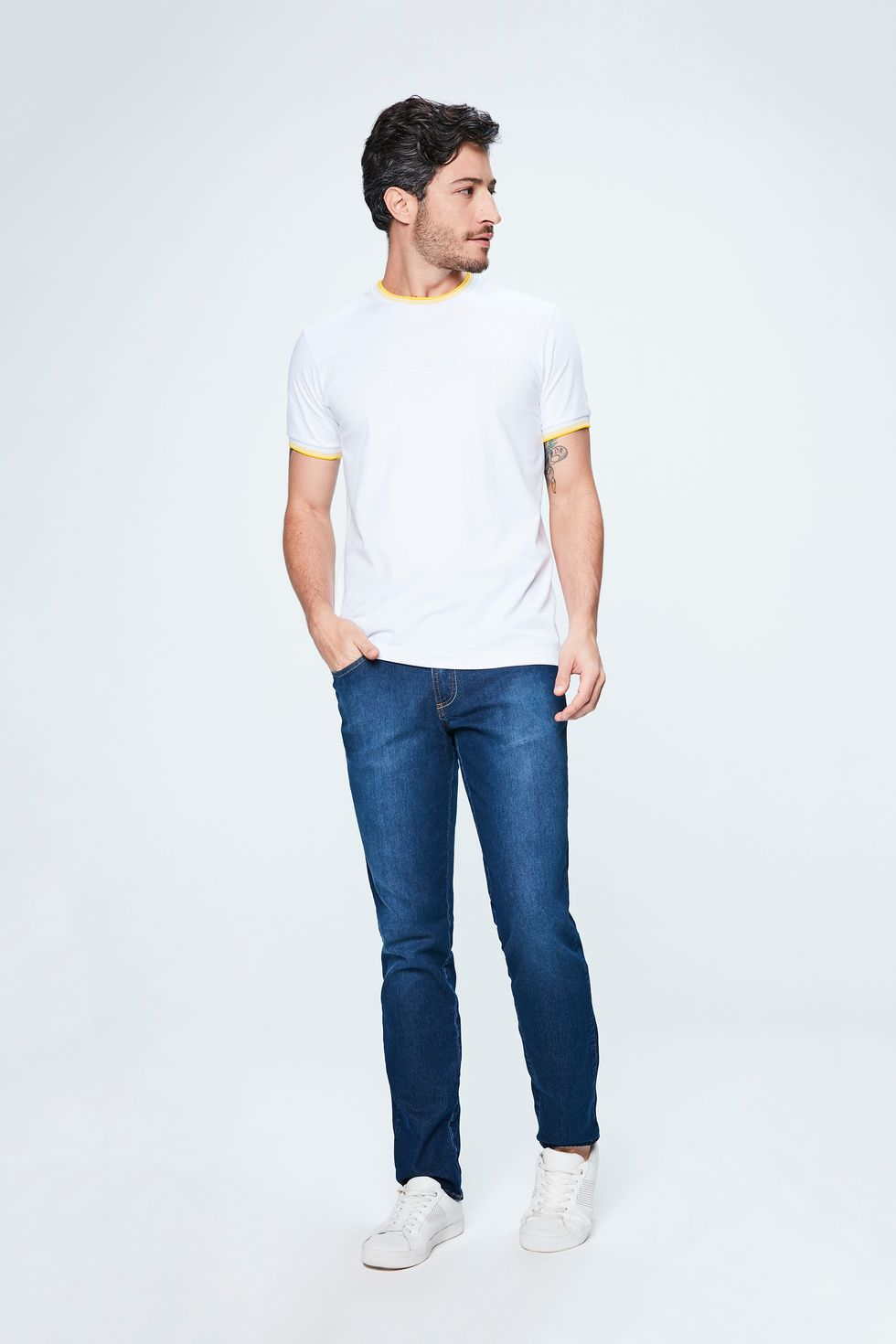Look-Masculino-Camiseta-College