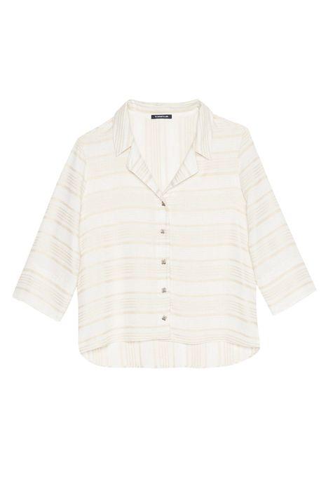 Camisa-Mangas-3-4-Listrada-Feminina-Detalhe-Still--