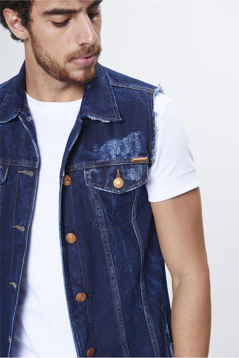 Colete-Jeans-Alongado-Unissex-Detalhe--