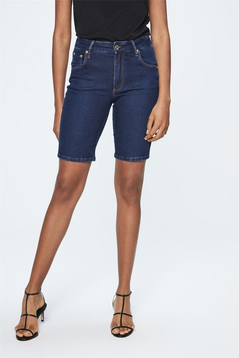 Bermuda-Jeans-Escuro-Feminina-Frente-1--