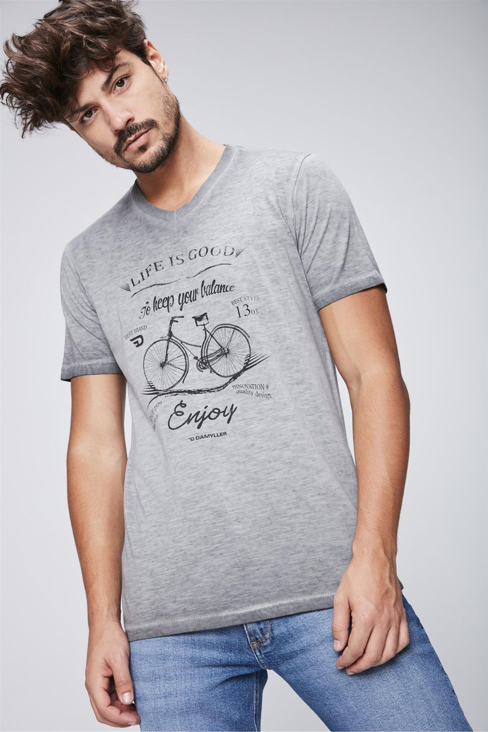 Camiseta-Masculina-Vintage-Frente--