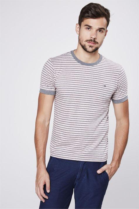 Camiseta-College-Listrada-Masculina-Frente--