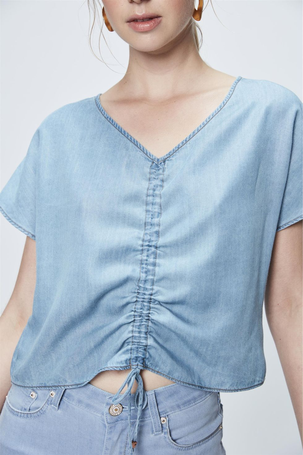 Top-Cropped-Jeans-com-Franzimento-Frente--