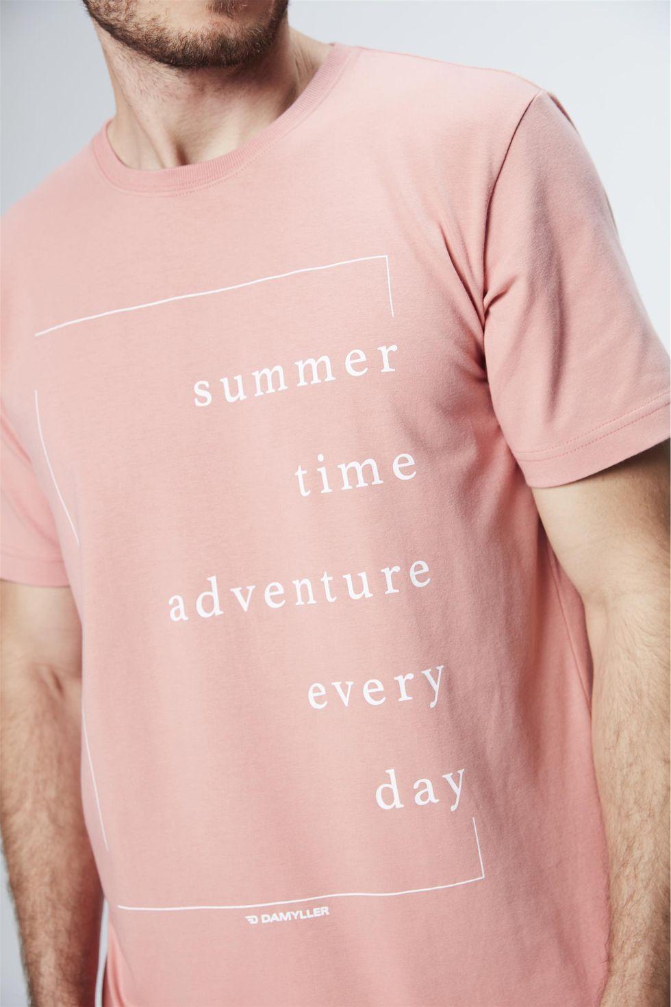Camiseta-com-Estampa-Summer-Masculina-Frente--