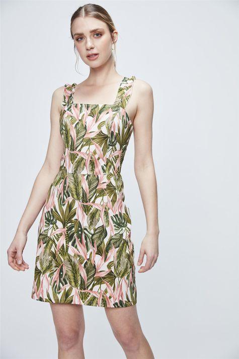 Vestido-Medio-com-Estampa-Tropical-Frente--