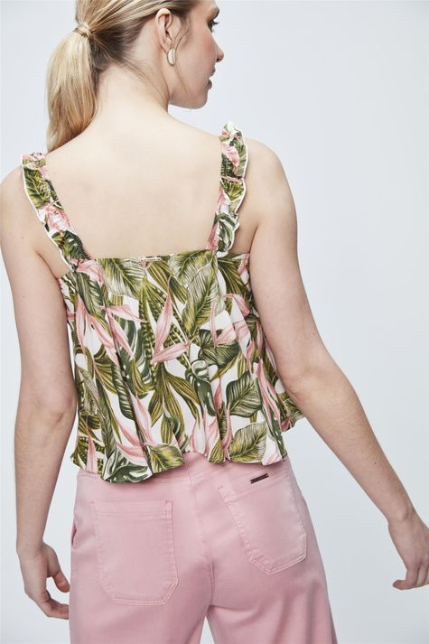Top-Cropped-com-Estampa-Tropical-Costas--