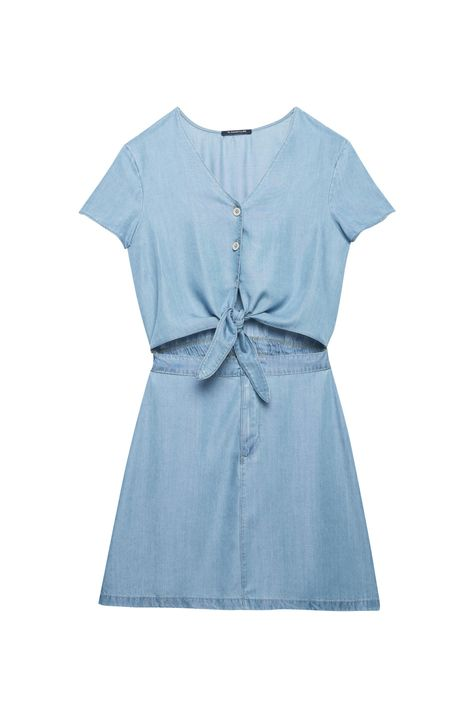 Vestido-Jeans-com-Recorte-na-Cintura-Detalhe-Still--