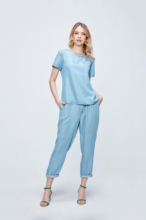 Camiseta-Jeans-com-Estampa-Good-Vibes-Detalhe-1--