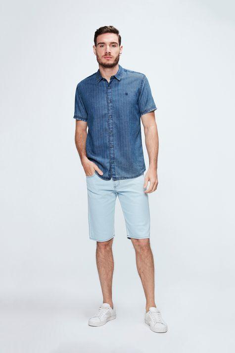 Camisa-de-Manga-Curta-Jeans-com-Textura-Detalhe-1--