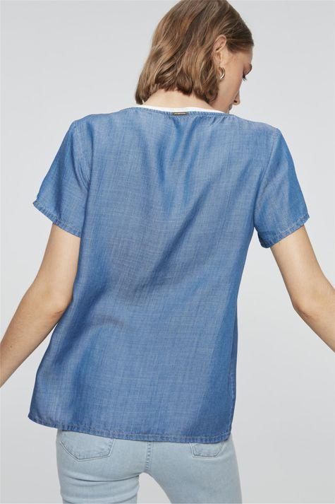 Camiseta-Jeans-Azul-Royal-com-Listras-Costas--