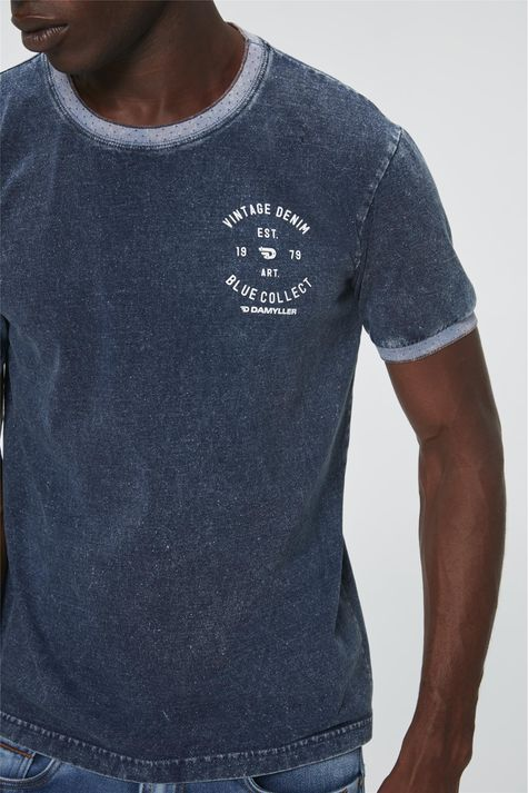 Camiseta-Denim-com-Estampa-Vintage-Frente--