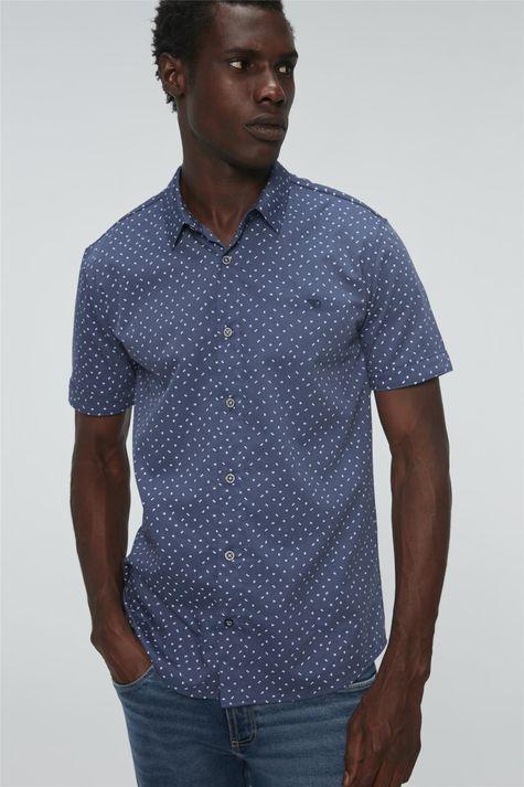 Camisa-de-Estampa-Geometrica-Manga-Curta-Frente--