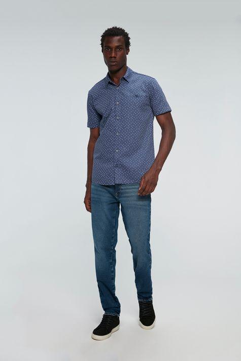 Camisa-de-Estampa-Geometrica-Manga-Curta-Detalhe-1--