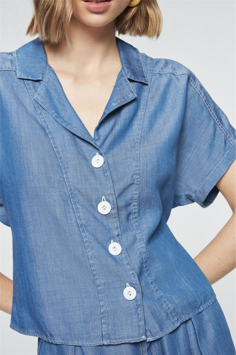 Camisa-Jeans-Azul-Royal-Feminina-Frente--