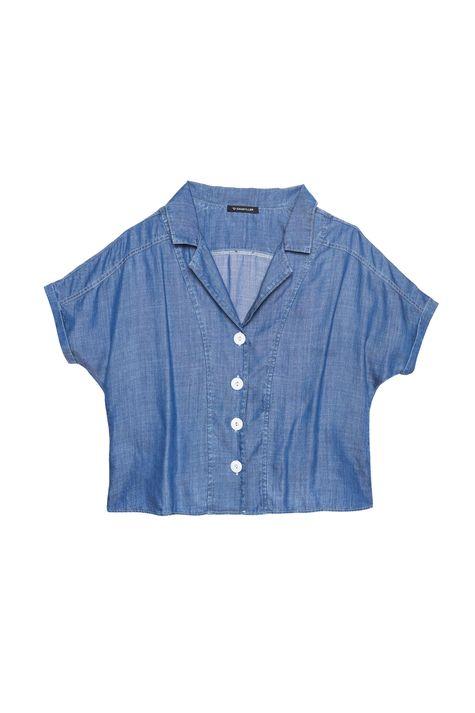 Camisa-Jeans-Azul-Royal-Feminina-Detalhe-Still--