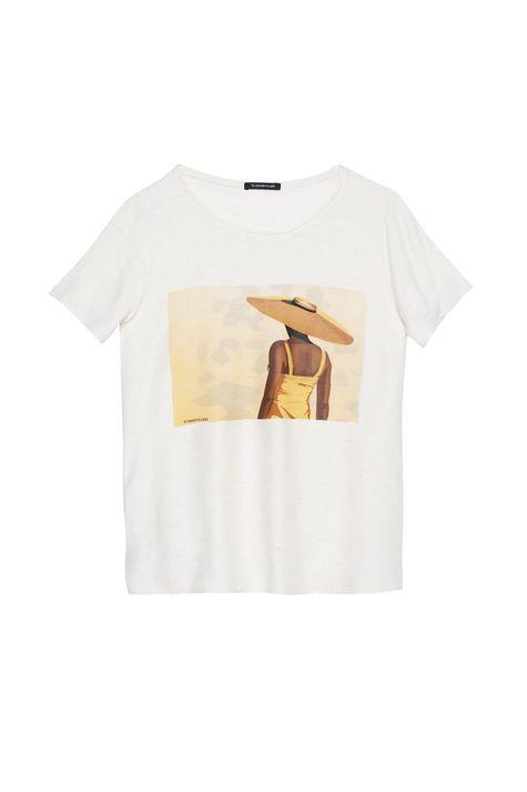 Camiseta-com-Estampa-Mulher-com-Chapeu-Detalhe-Still--