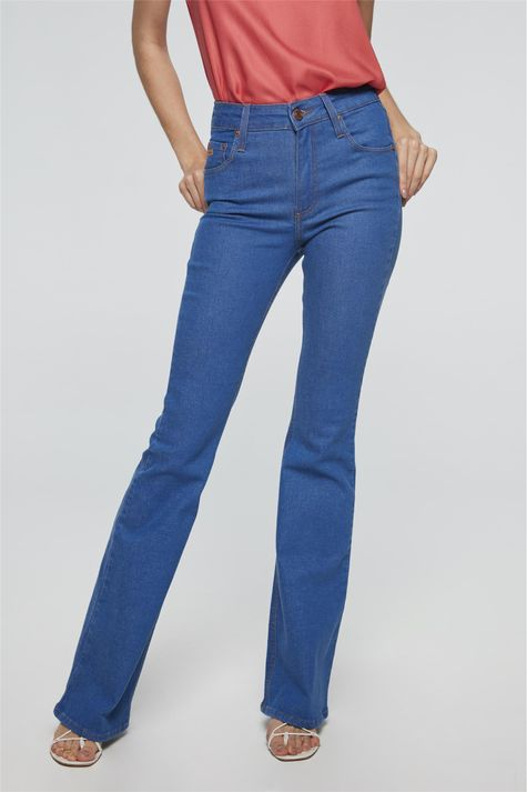 Calca-Jeans-Azul-Royal-Boot-Cut-Frente-1--