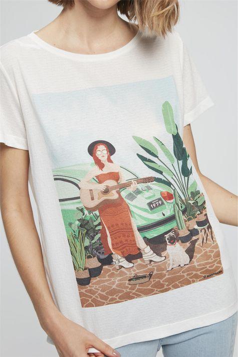 Camiseta-com-Estampa-Mulher-com-Cachorro-Frente--