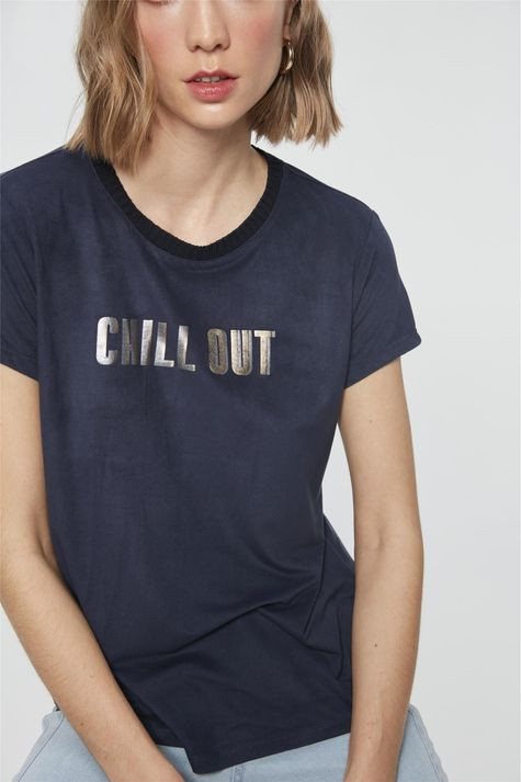 camiseta-com-Estampa-Chill-Out-Feminina-Frente--