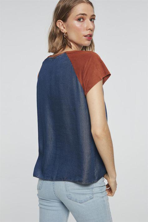 Camiseta-Jeans-com-Suede-Feminina-Costas--