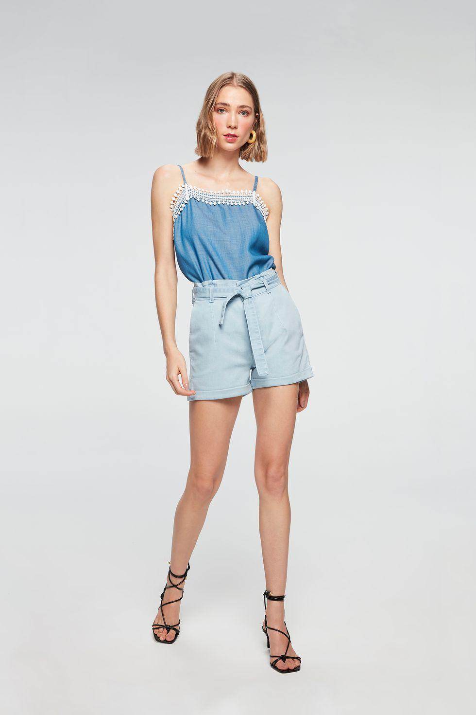 Look-Short-Jeans-Clochard-Mini