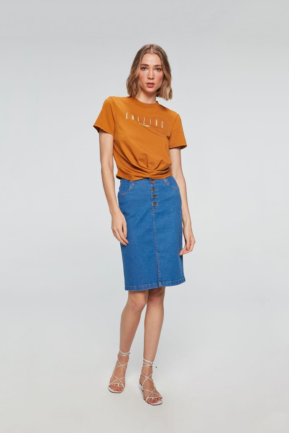 Look-Feminino-Saia-Jeans-Secretaria