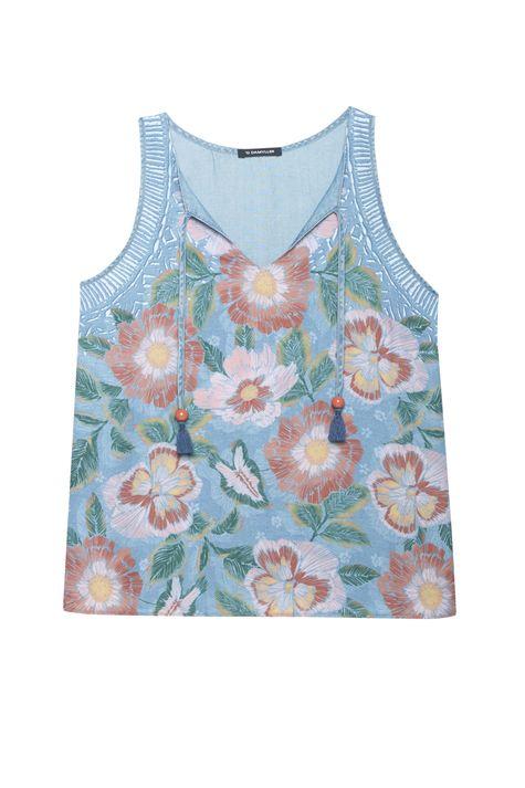 Regata-Jeans-Amarracao-e-Estampa-Floral-Detalhe-Still--