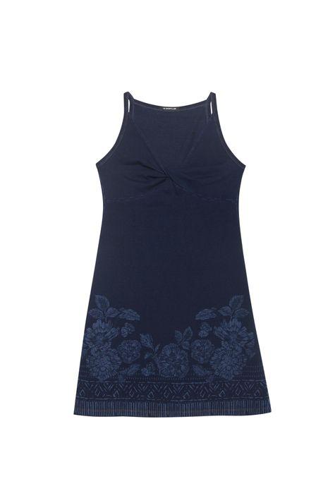 Vestido-Mini-em-Malha-Denim-Floral-Detalhe-Still--