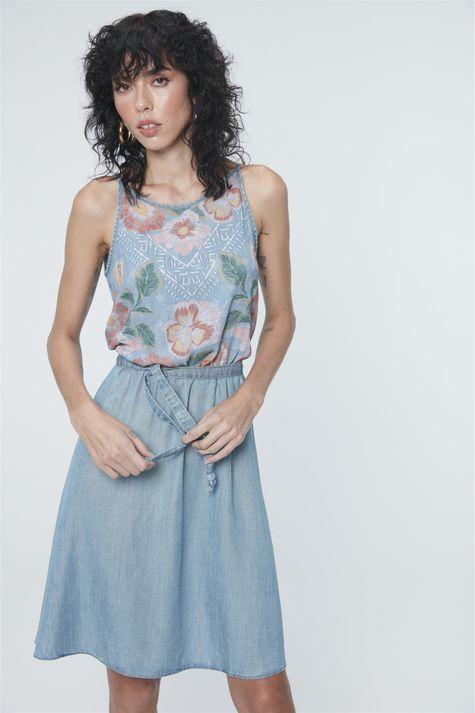 Vestido-Jeans-Secretaria-Estampa-Floral-Costas--